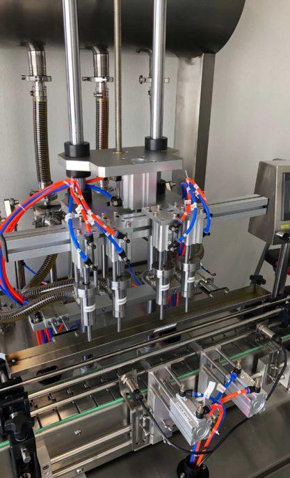 oil bottling machine